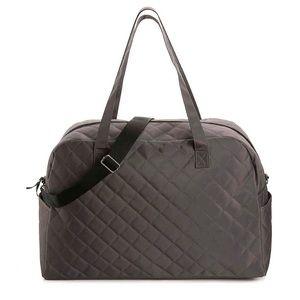 Handbags - Weekender Bag Quilted Grey. NWOT.